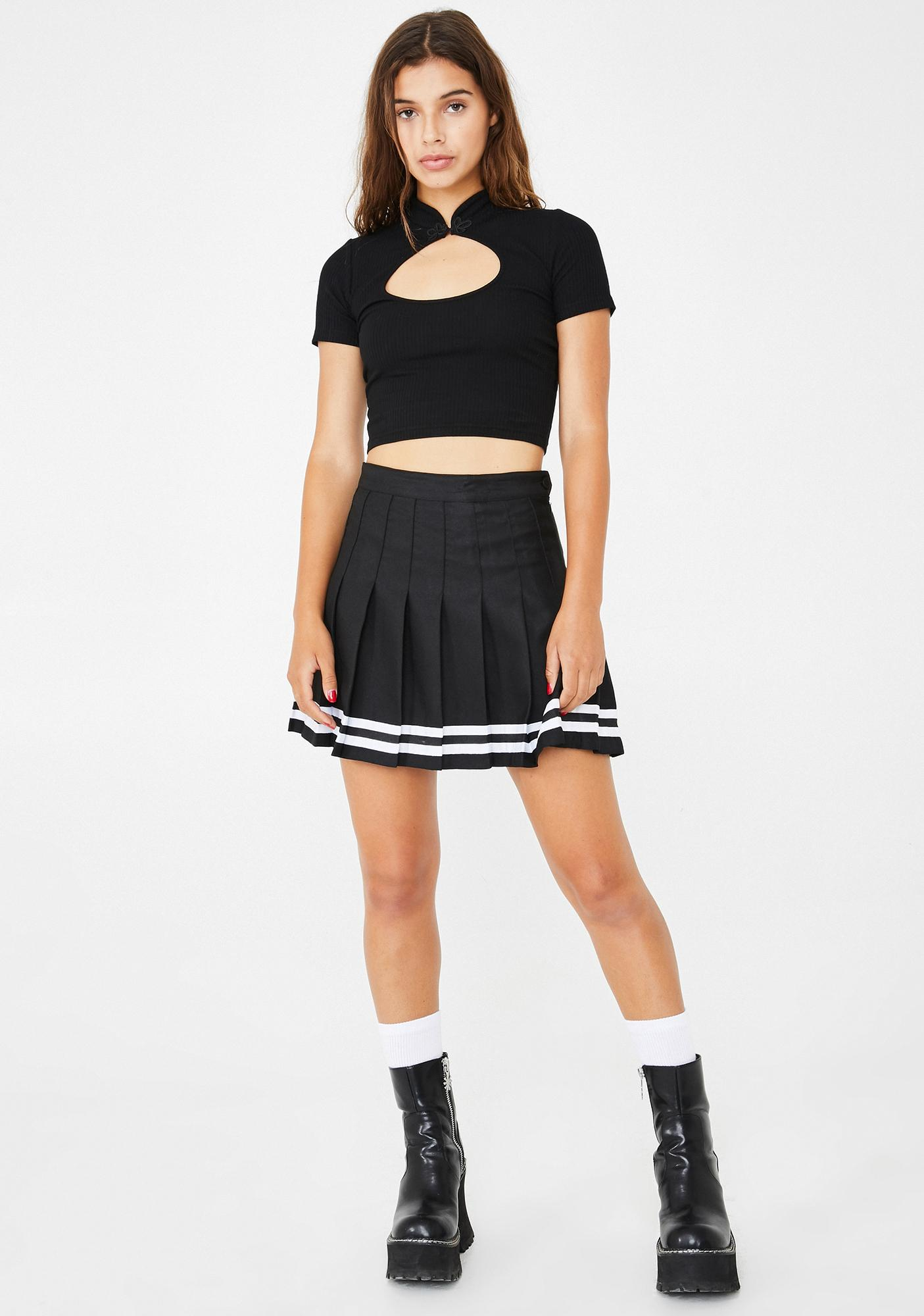 dELiA*s by Dolls Kill Totally Over It Crop Top