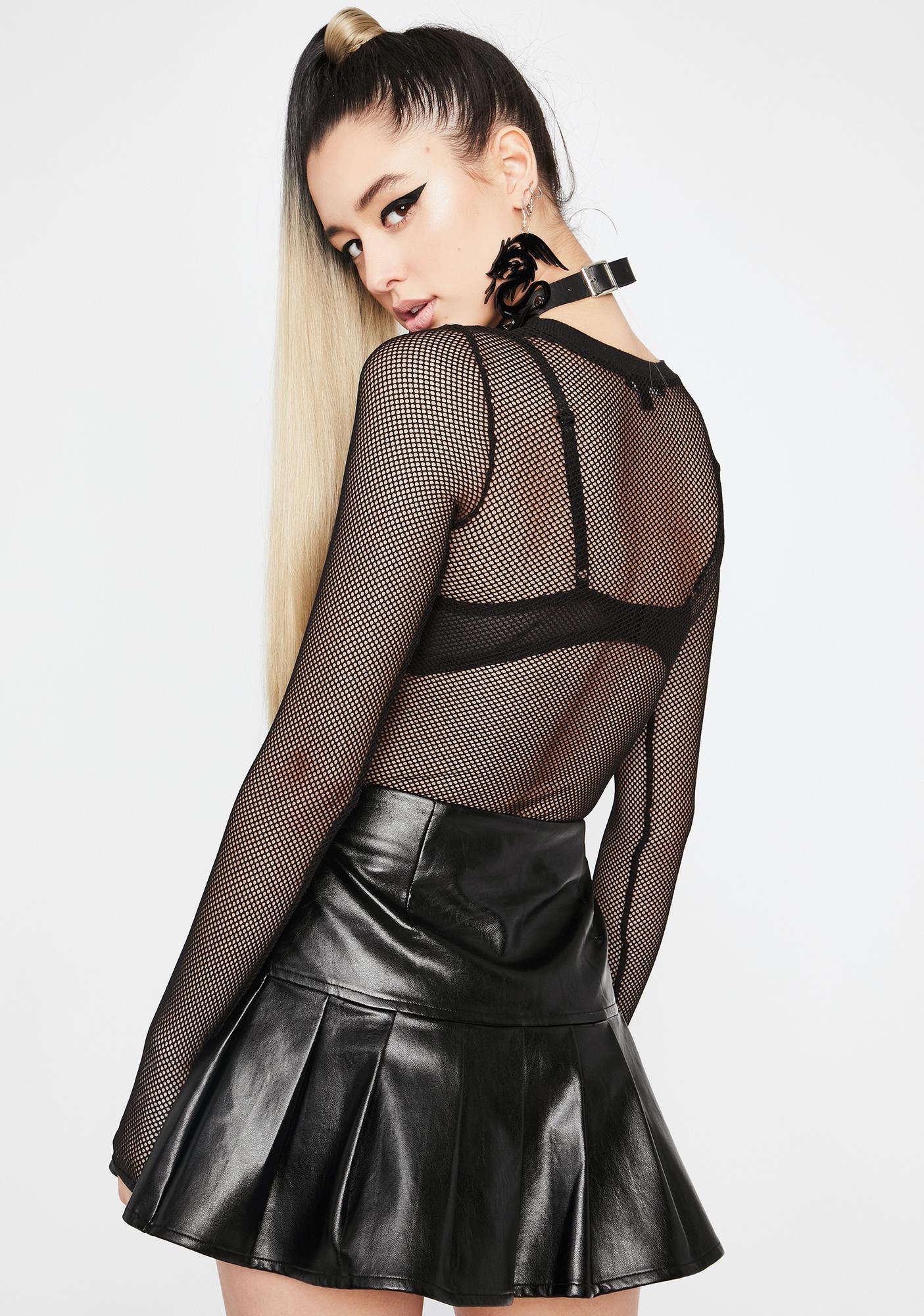 Dreamer District Pleated Skirt