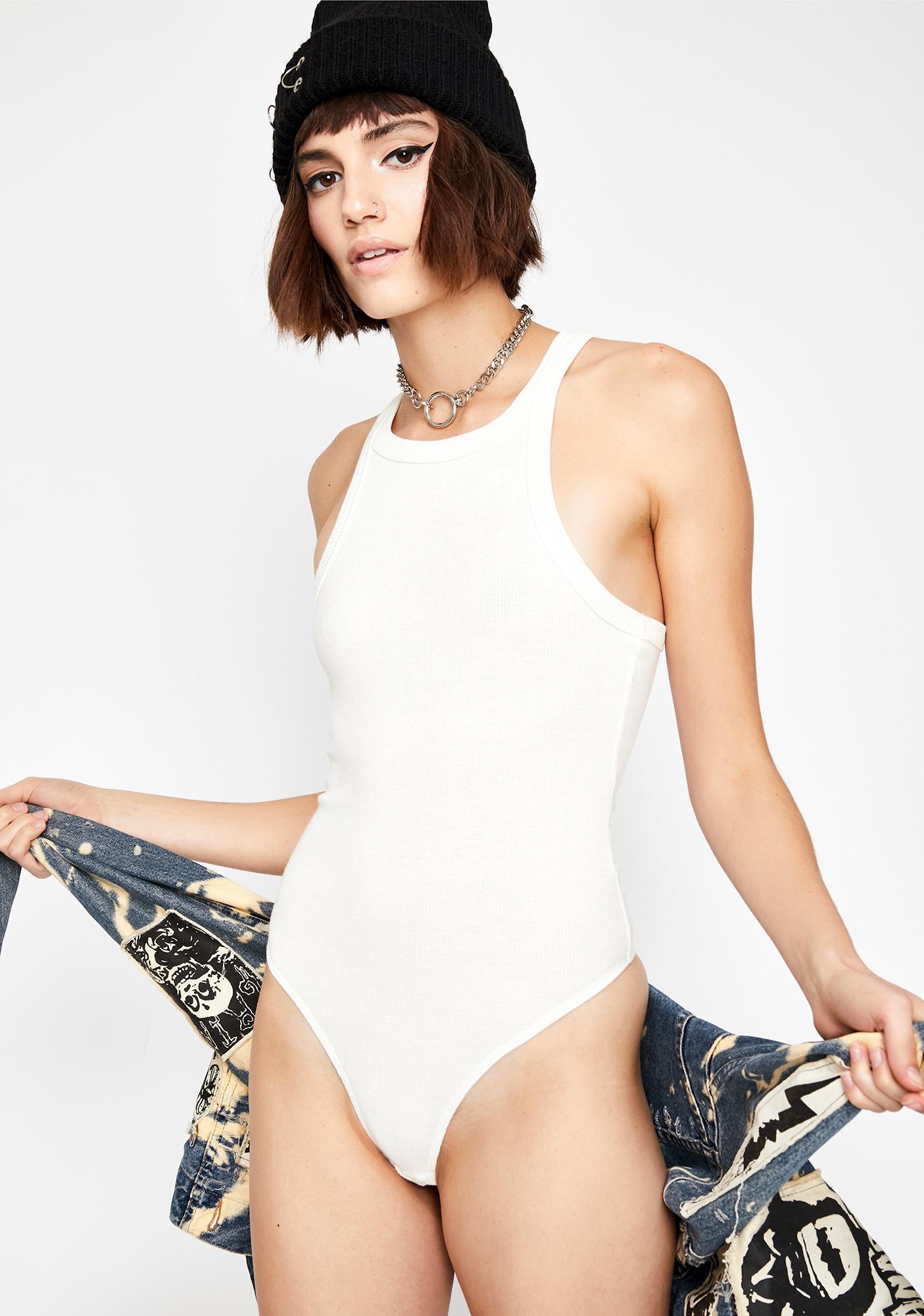 Biggest Gossip Knit Bodysuit