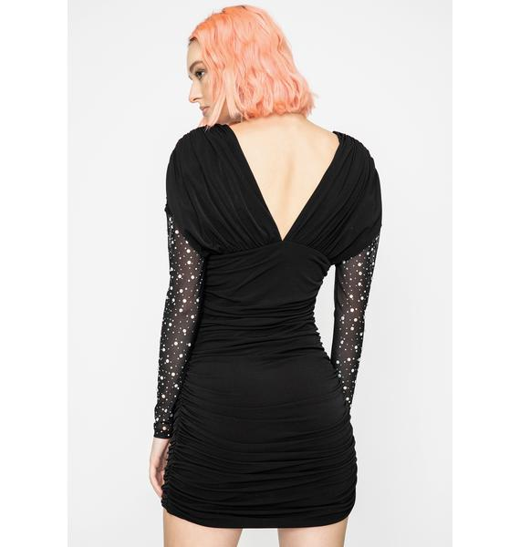 Kiki Riki Catty Couture Mini Dress