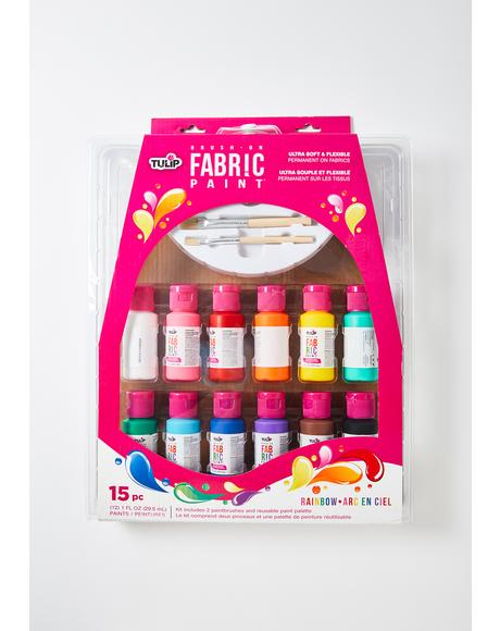True Colors Fabric Paint Kit