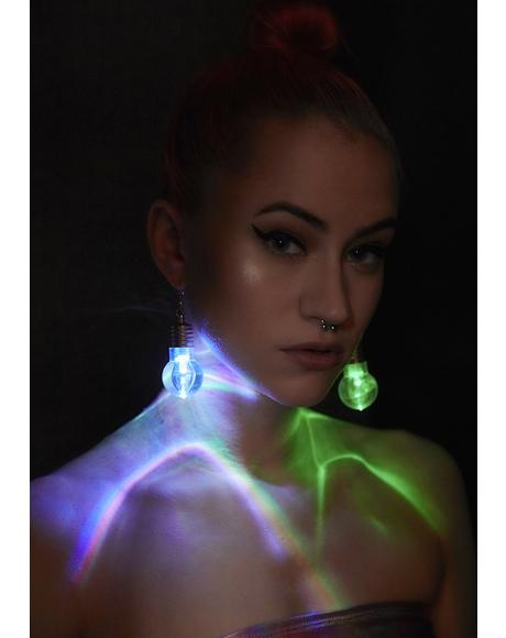 Lit Ideaz Light Up Earrings