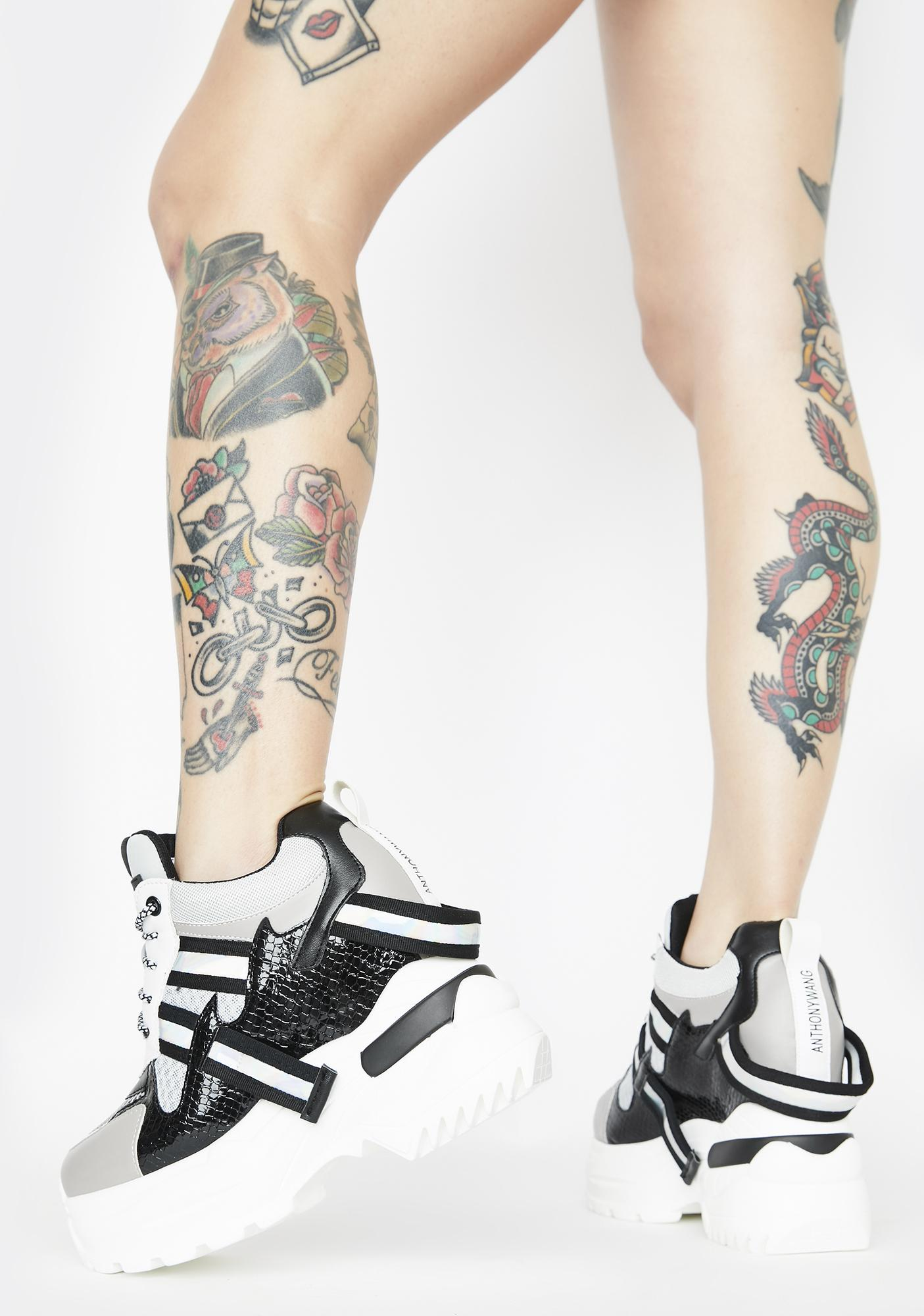 Anthony Wang Oval Platform Sneakers