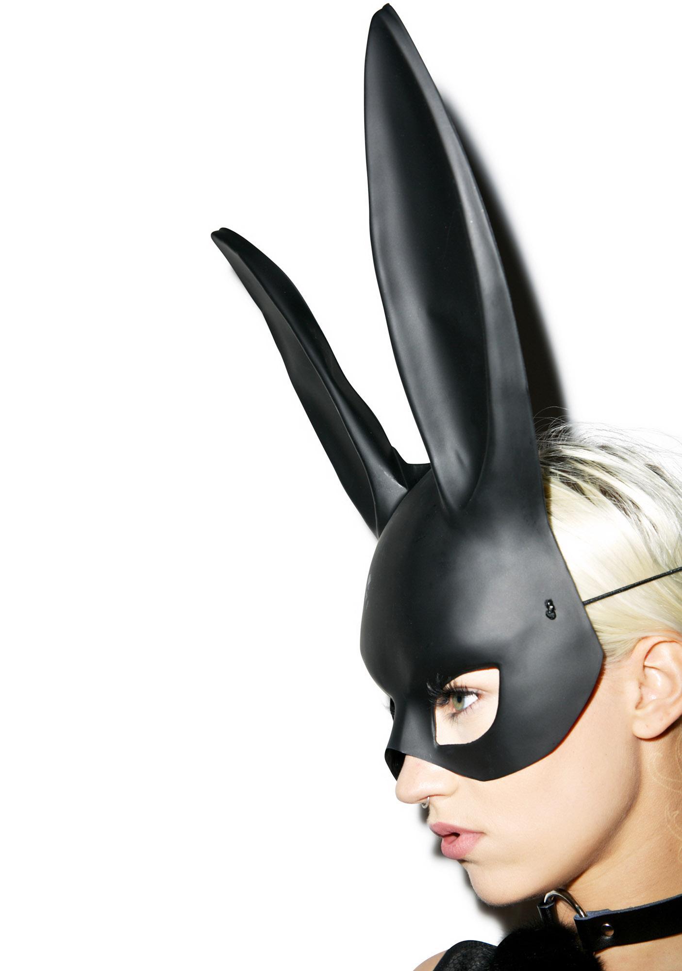 Gettin' Busy Bunny Mask