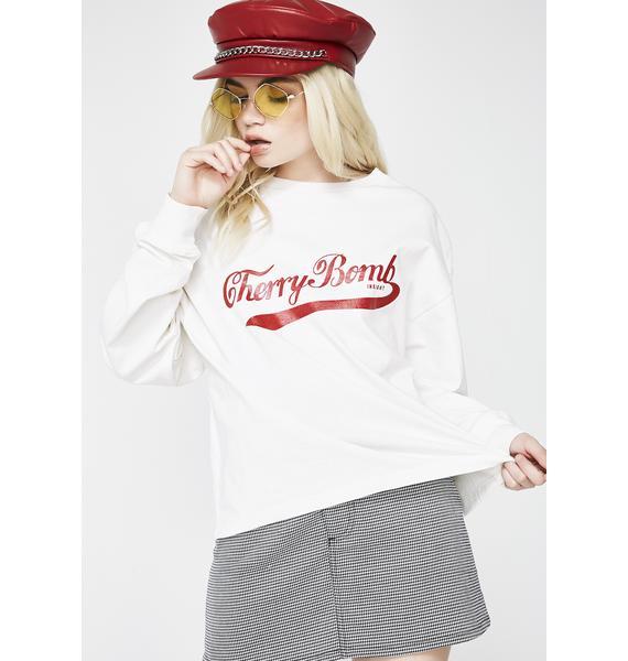Insight Cherry Bomb Long Sleeve Tee