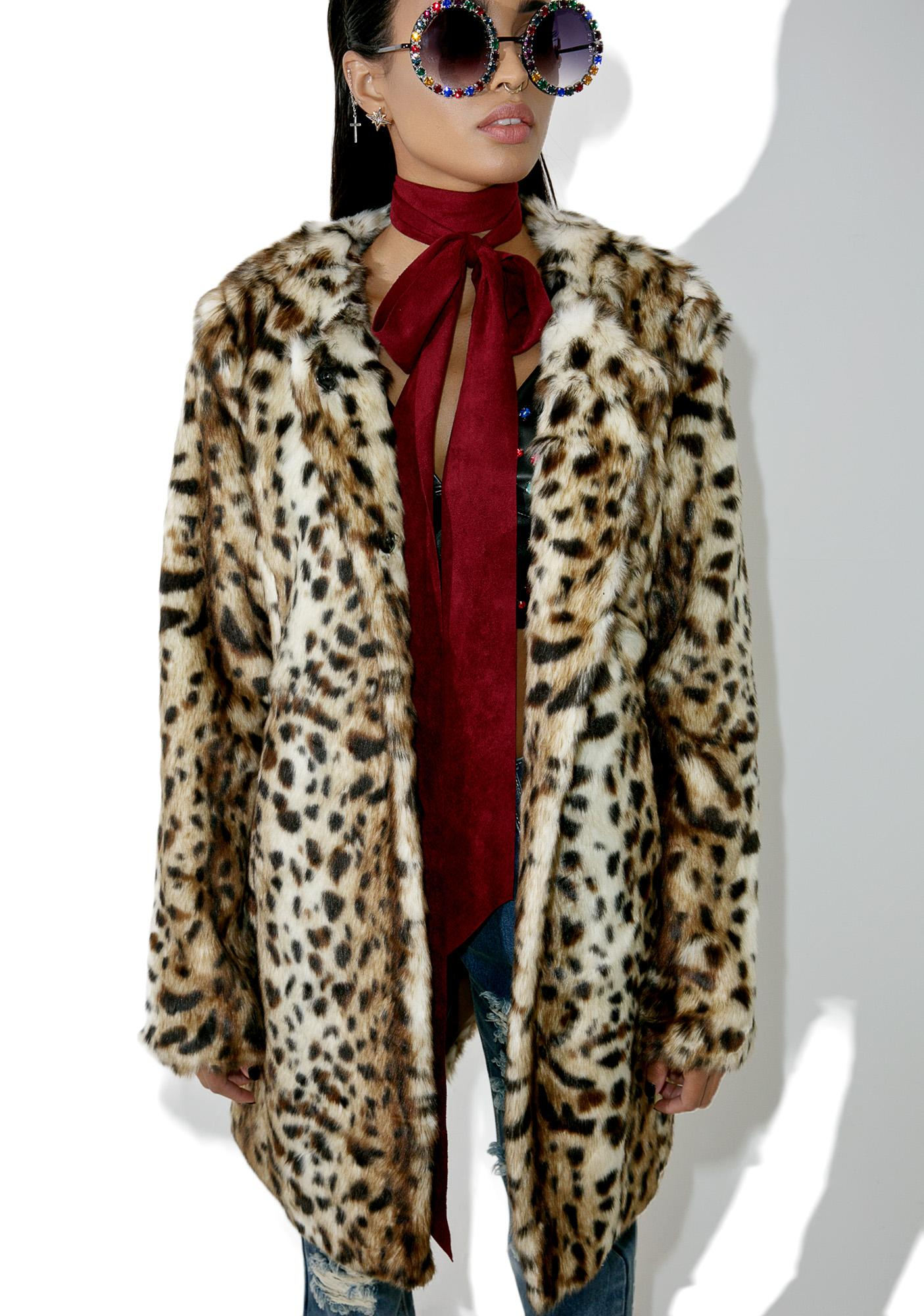 Wild Ones Leopard Coat
