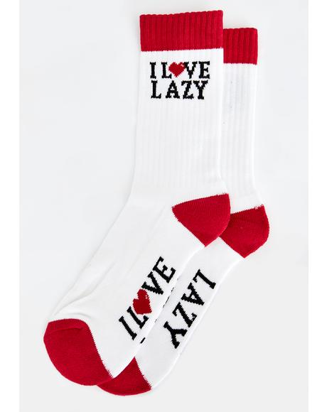 Love Lazy Socks