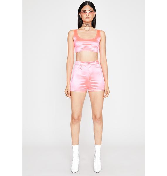 Candy Runnin' On Envy Shorts Set
