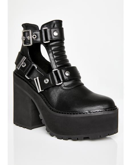 Electra Cutout Heels