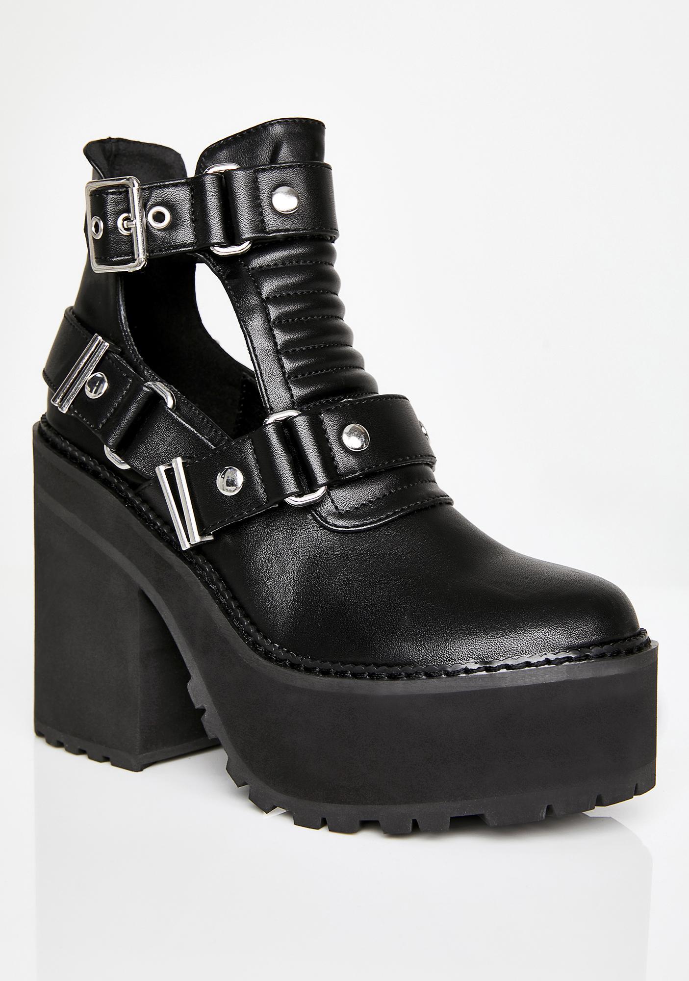 Killstar Electra Cutout Heels