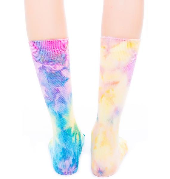 O Mighty Rainbow Hoe Socks