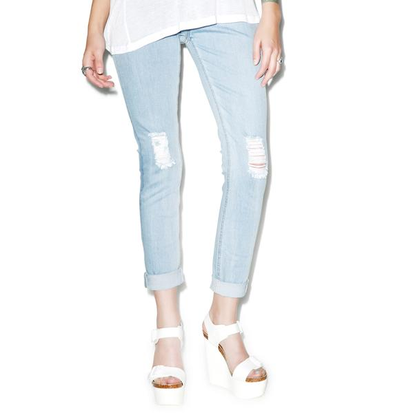Mink Pink Walking On A Dream Jeggings