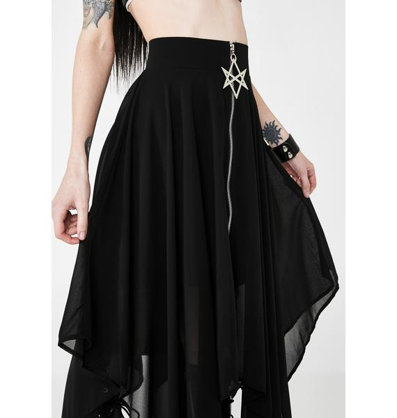 Killstar Sacred Sixx Maxi Skirt