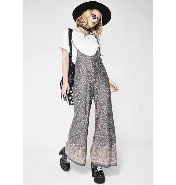 Earthly Aura Flowy Jumpsuit
