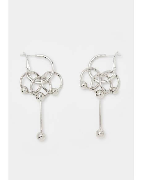 Jump Thru Hoops Earrings