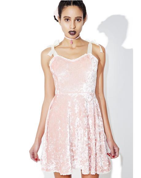 Princess Velvet Crushin' Doll Dress
