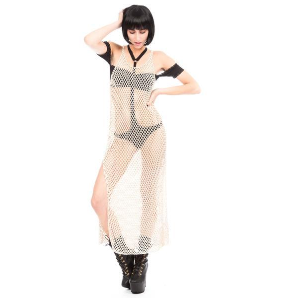 One Teaspoon Fleetwood Crochet Dress