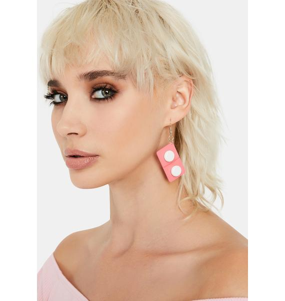 Candy All Fall Down Domino Earrings
