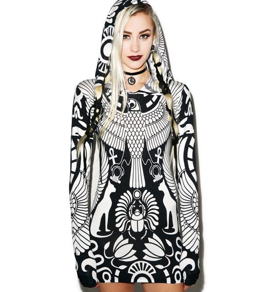 Killstar Vulture Hood Dress