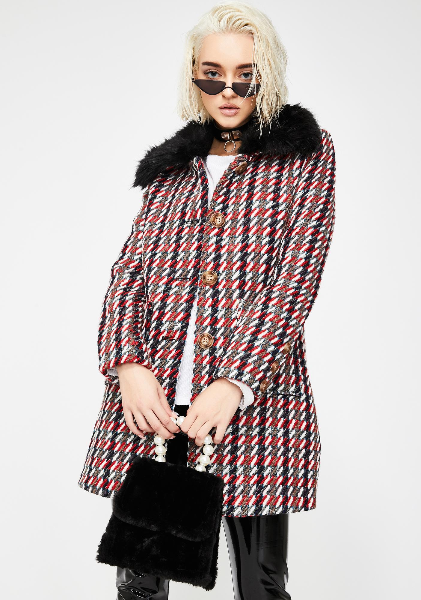 If You Fancy Fuzzy Handbag
