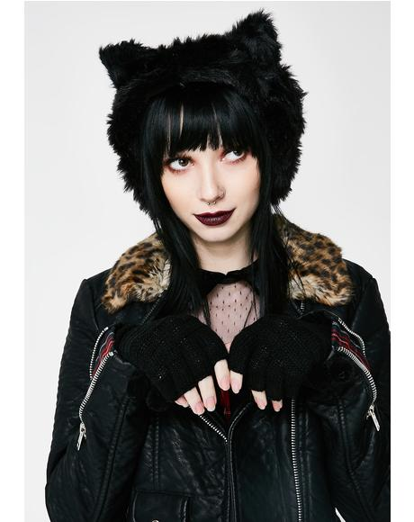 Le Chat Noir Ear Muffs