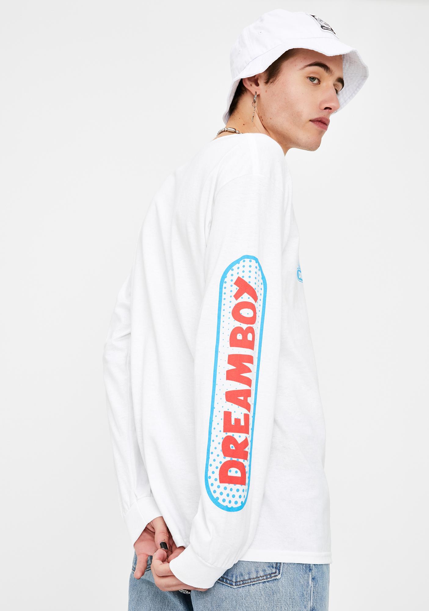 Dreamboy Tri Logo Long Sleeve Graphic Tee