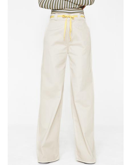 Worker Wide Leg Pants