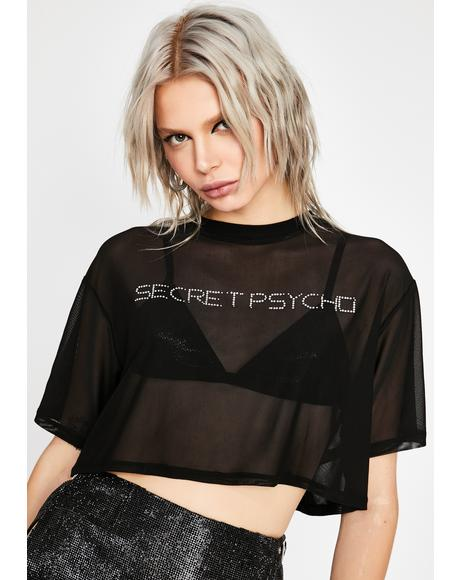 Undercover Freak Crop Top