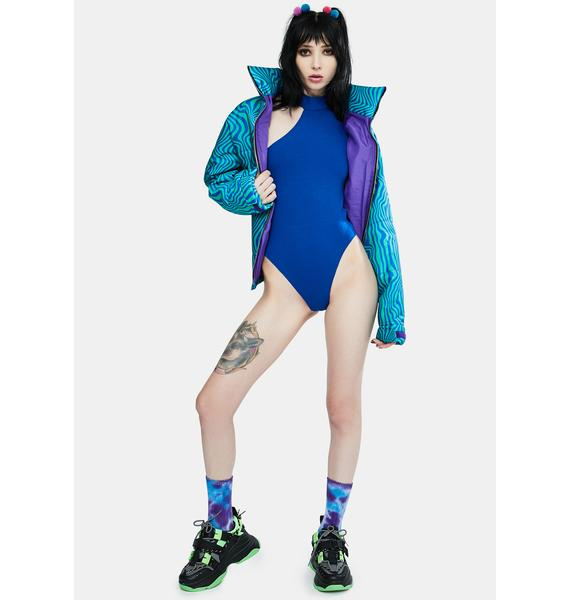 Local Heroes The Sexy Blue Bodysuit