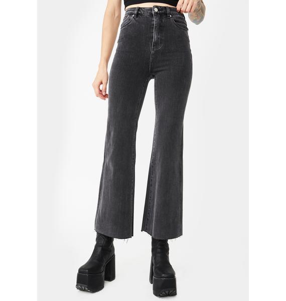 Rollas Eastcoast Crop Flare Pants