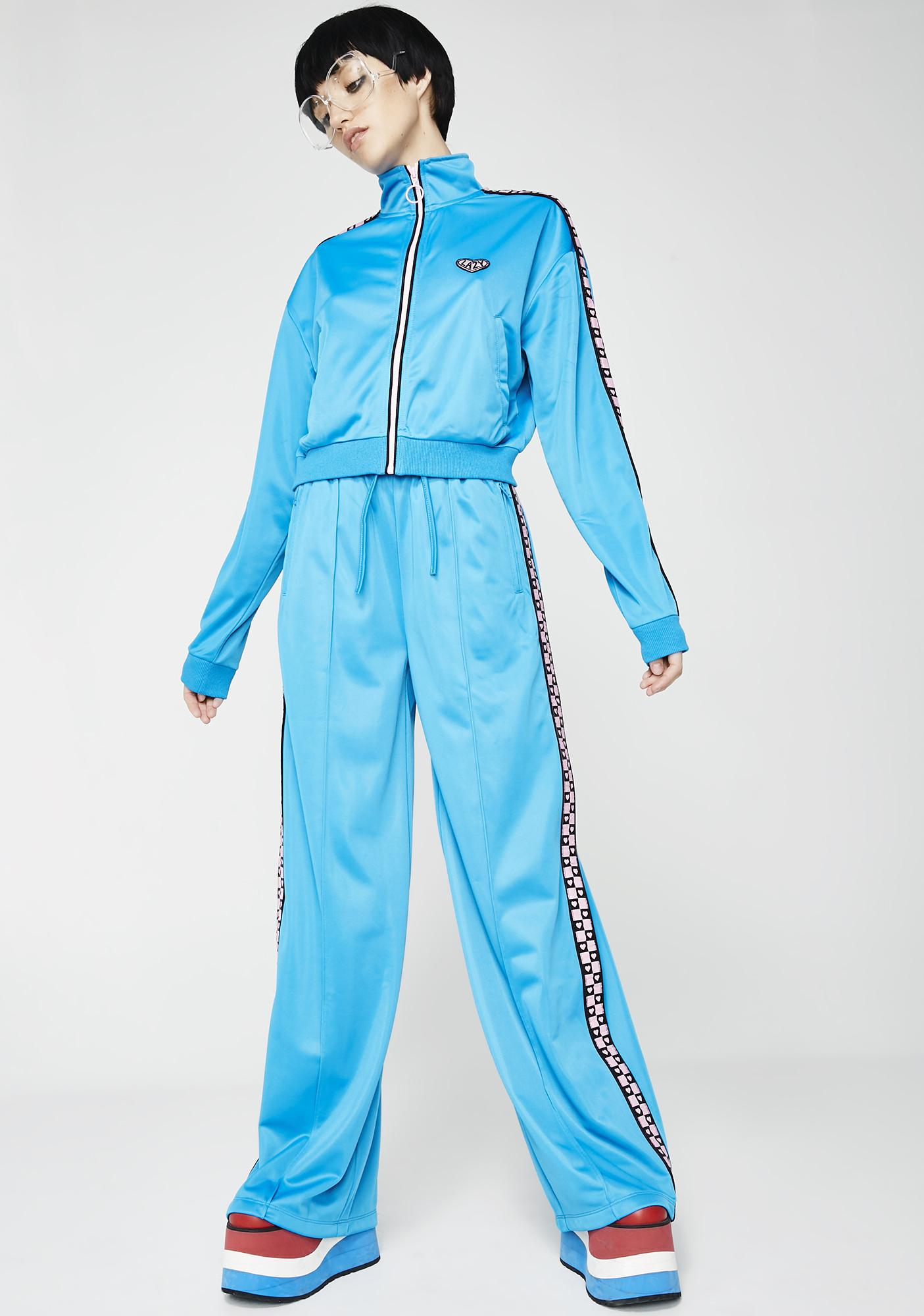 Lazy Oaf In Training Track Pants