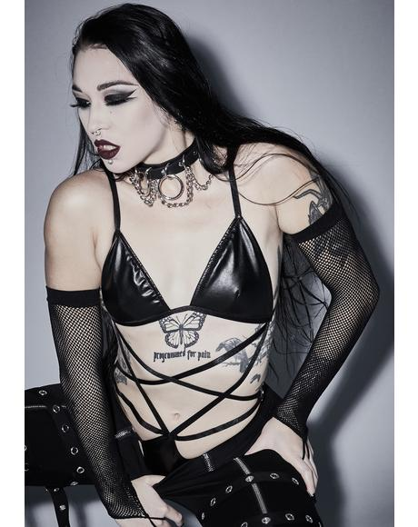 Occult Addiction Pentagram Bodysuit