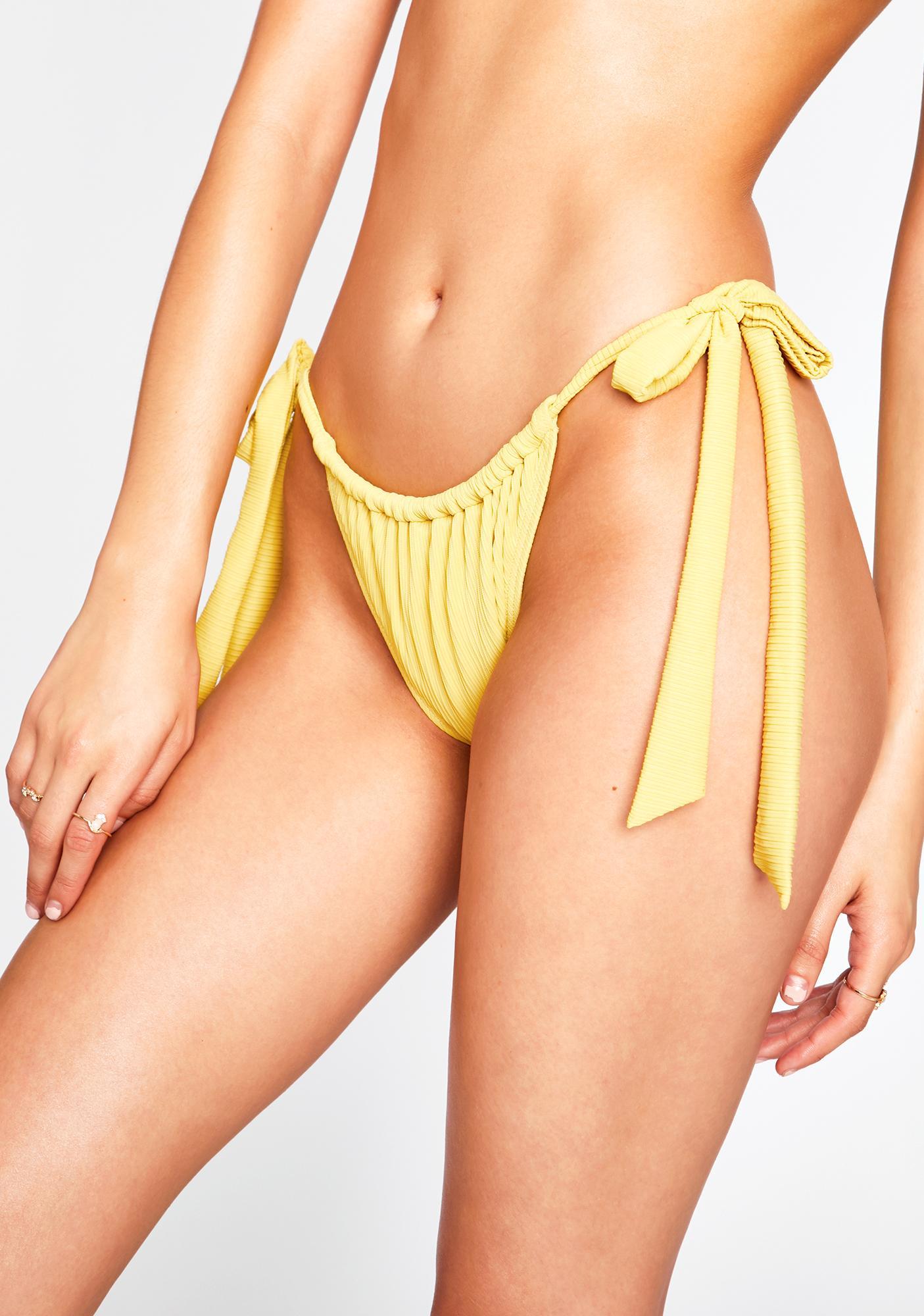 Mink Pink Elton Tie Bikini Bottoms