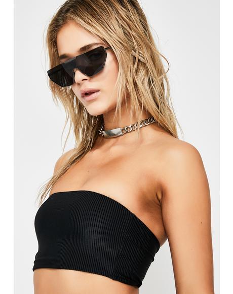Midnight Jenna Bikini Top