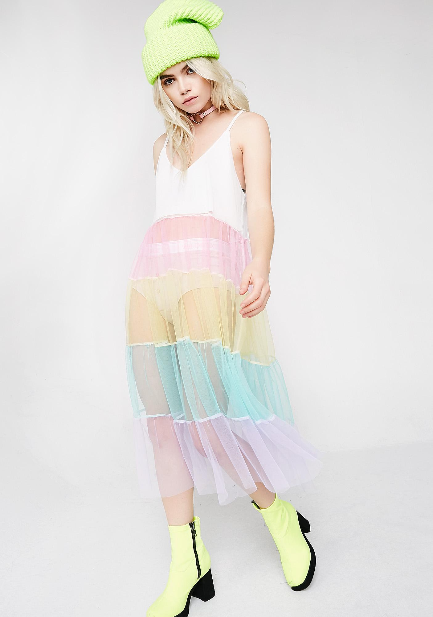 Fairy Visionz Rainbow Dress