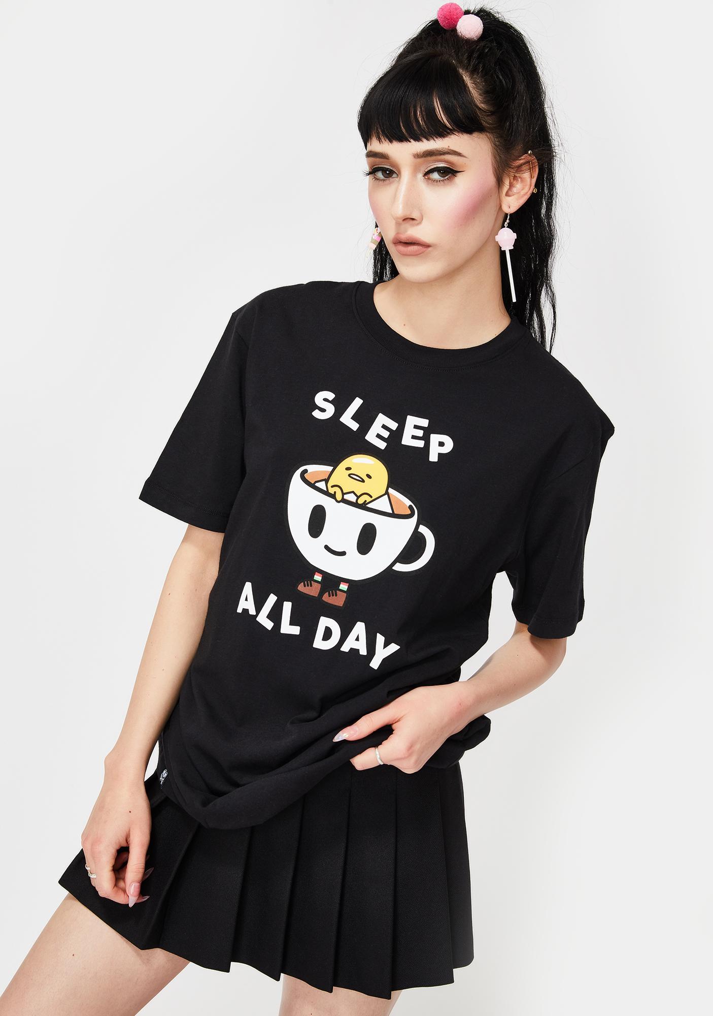 Tokidoki X Gudetama Sleep All Day Graphic Tee