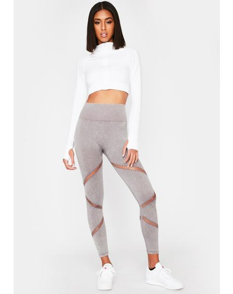 Cut To The Chase Sporty Leggings