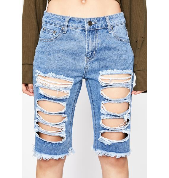 True Spirit Denim Shorts