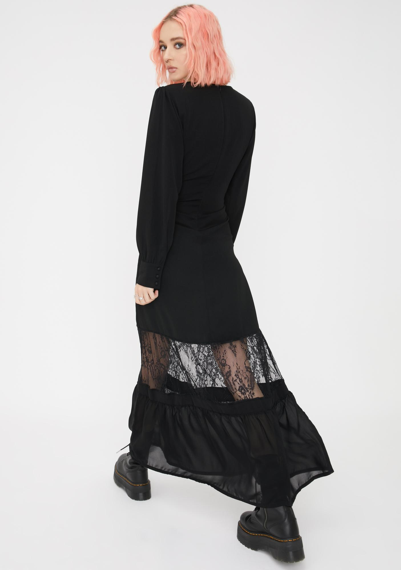 Disturbia Guinevere Maxi Dress