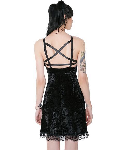 Adora Velvet Crush Dress