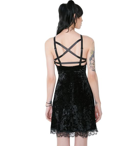 Killstar Adora Velvet Crush Dress