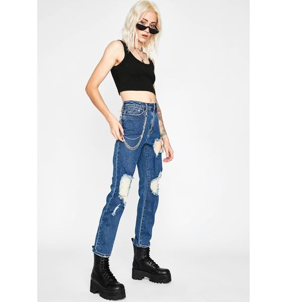 Thrash Matter Distressed Jeans
