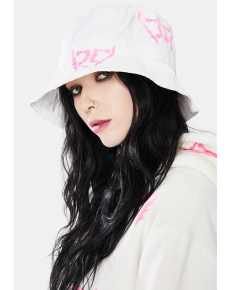 Pink DB Wings Bucket Hat