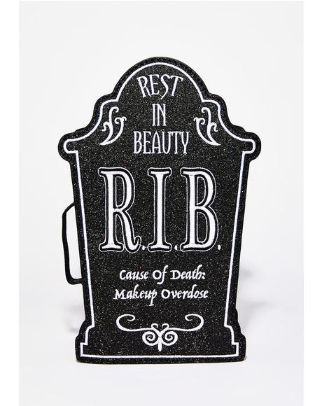 Rest In Beauty Cosmetic Case