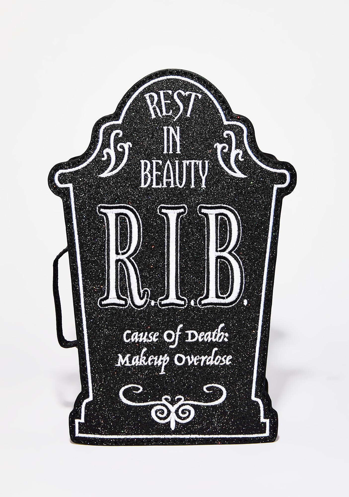 Current Mood Rest In Beauty Cosmetic Case