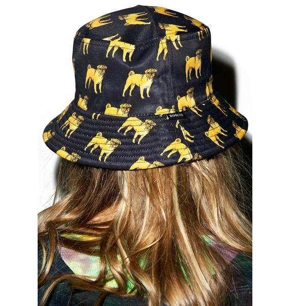 Dog LTD. Pug Bucket Hat