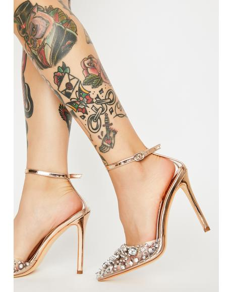 Popstar Jeweled Heels