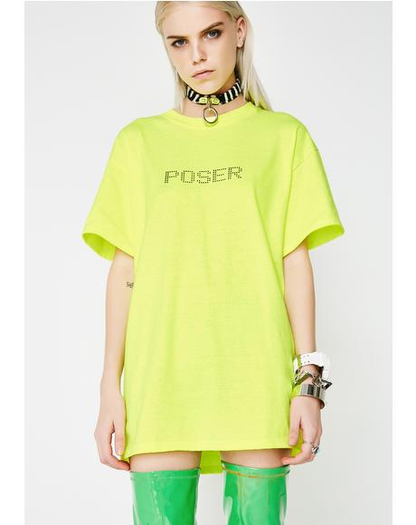Poser Screen Printed Tee