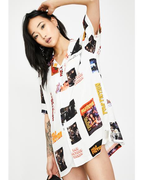 x Pulp Fiction Photo Woven Shirt