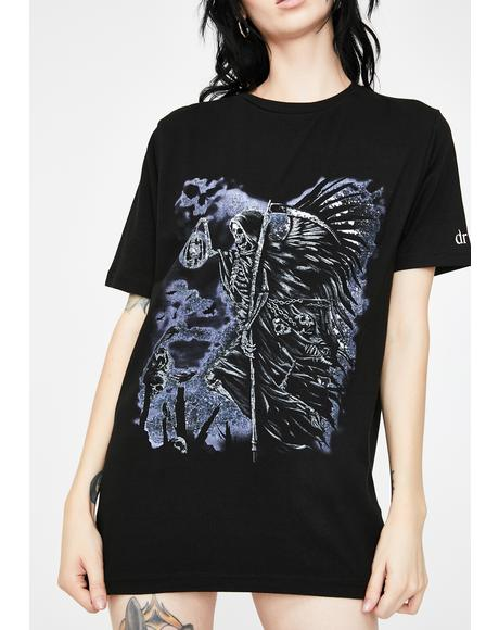 Grim Reaper's Night Graphic Tee